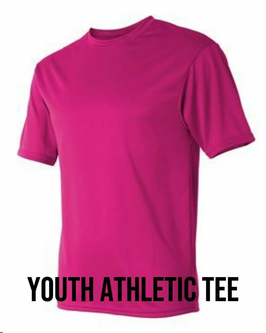 Youth Athletic Tee Unisex