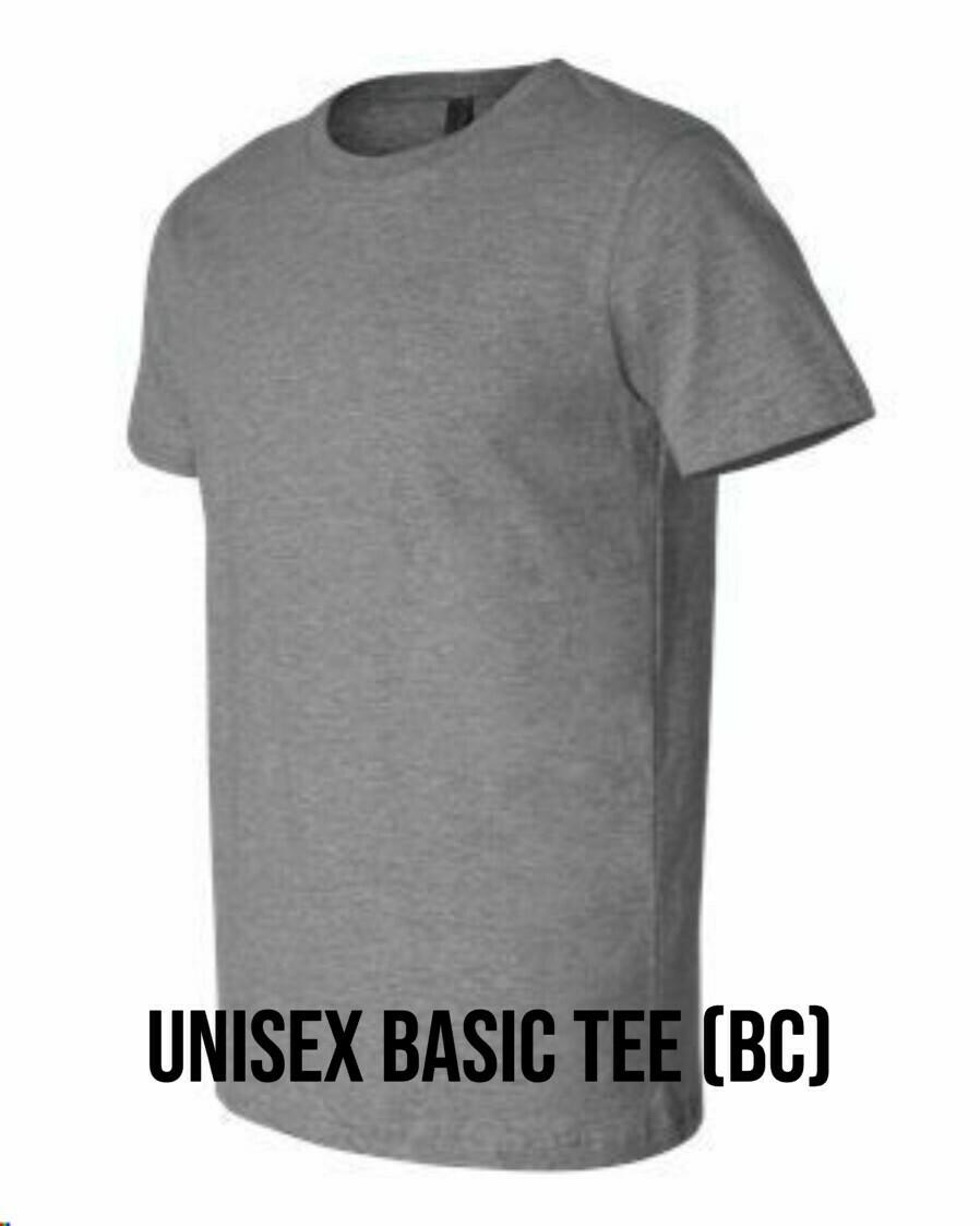 Unisex Basic Tee