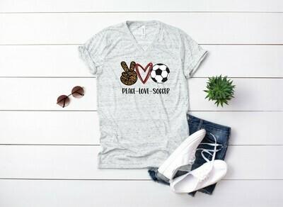 Peace Love Soccer