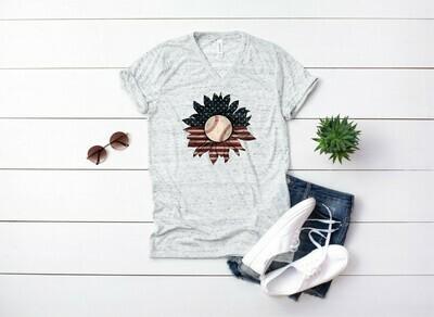 Baseball Sunflower