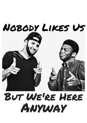 Nobody Likes Us Sticker