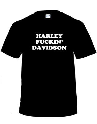 Harley F***in' Davidson