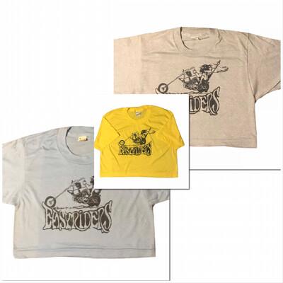 Easyriders Print On NOS Deadstock Cropped Screen Stars Tshirt