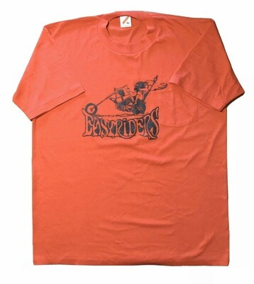 Easyriders On Mens Deadstock Red Pocket Tshirt Size XL