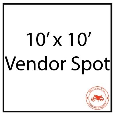 10'x10' Vendor Spot