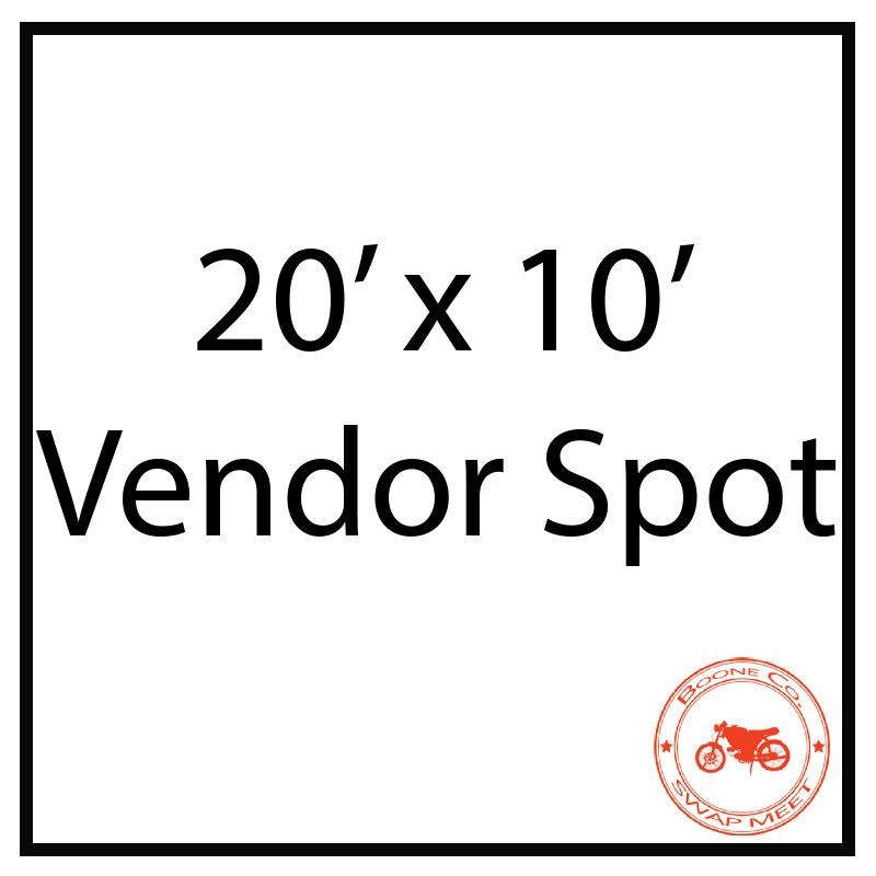 20'x10' Vendor Spot