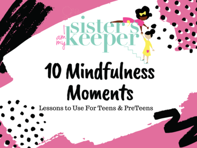 Mindfulness Moments For Parents to Use with Kids