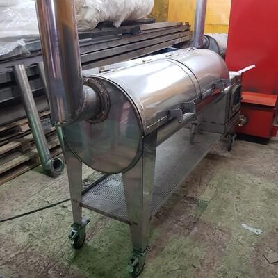 Смокер гриль уличный TOTEM Premium-12,5 нержавеющая сталь