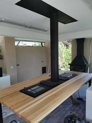 Стол мангал (отопительный) Fire Table без столешницы