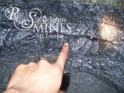 Natural Crystalline Vein Graphite 99%+, chip&lump, 1KG