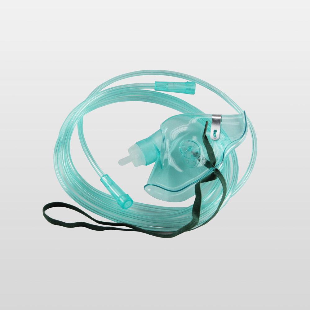 Maschera per ossigenoterapia