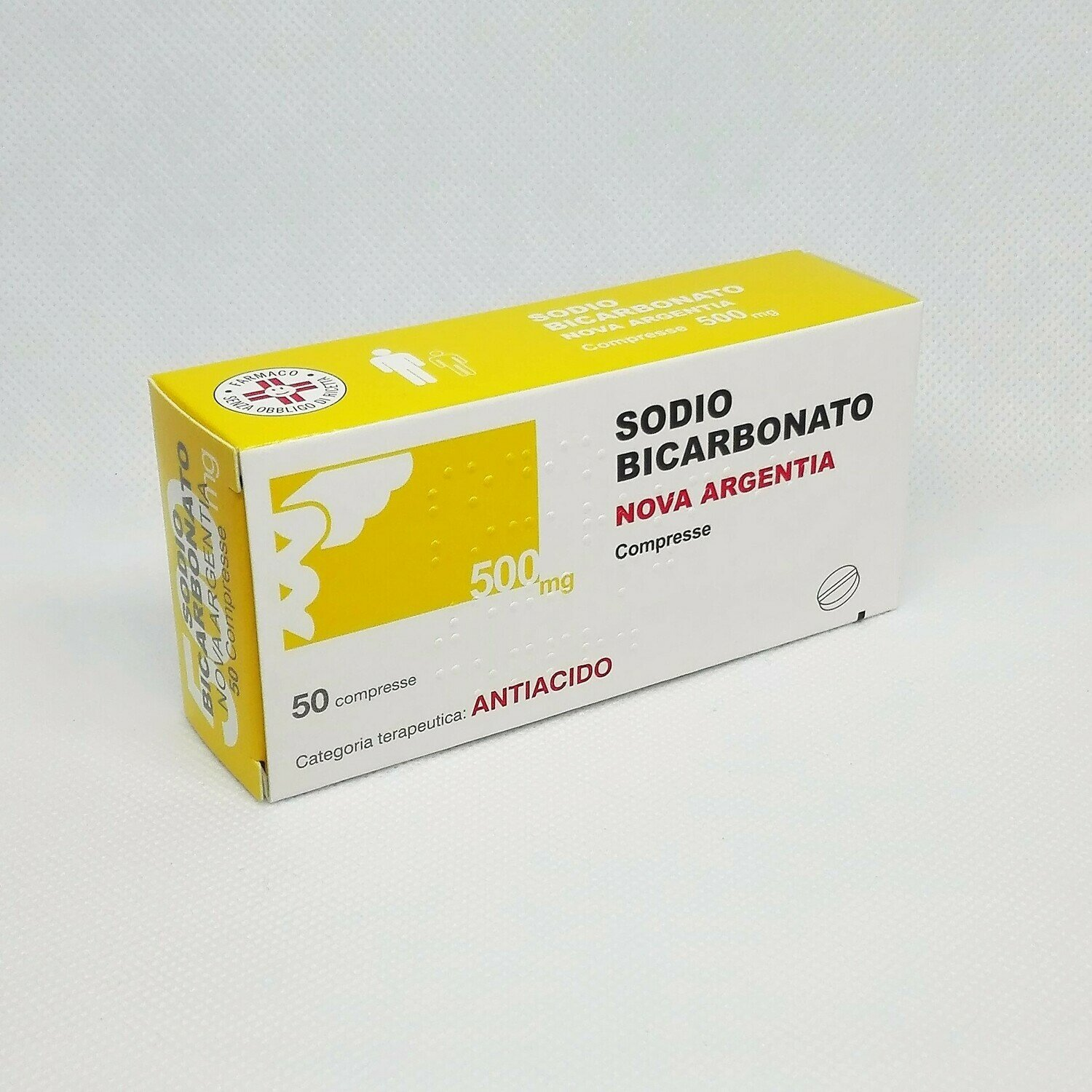 SODIO BICARBONATO 500 MG. COMPRESSE