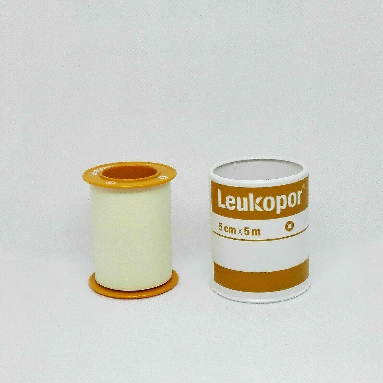 LEUKOPOR CM. 5 X 5 M.