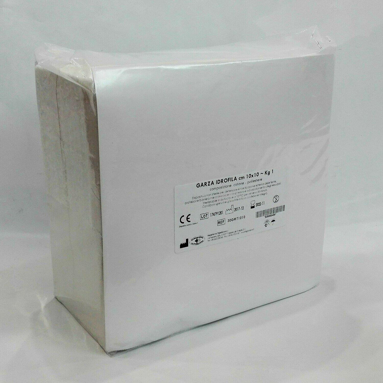 GARZA IDROFILA CM. 10 X 10 - KG. 1