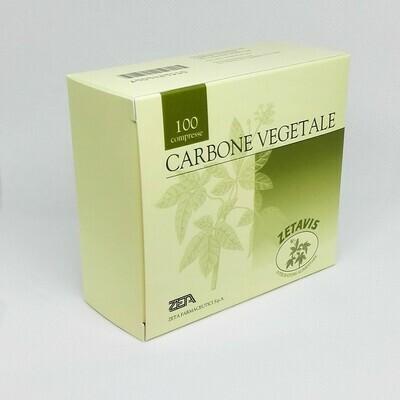 CARBONE VEGETALE - 100 COMPRESSE