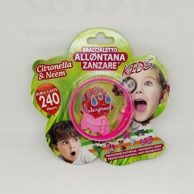 BRACCIALETTO ALLONTANA ZANZARE KIDS
