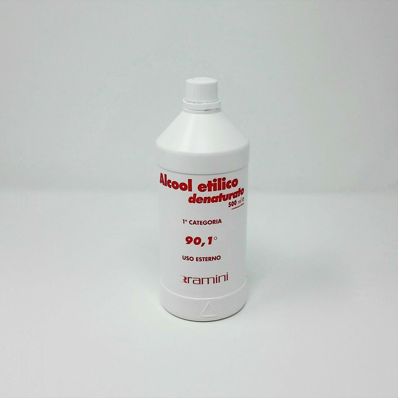 ALCOOL ETILICO DENATURATO 500 ML. - RAMINI
