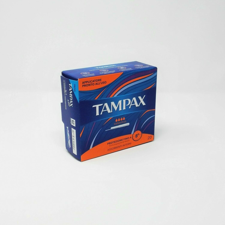 TAMPAX SUPER PLUS - CONFEZIONE DA 20 PEZZI