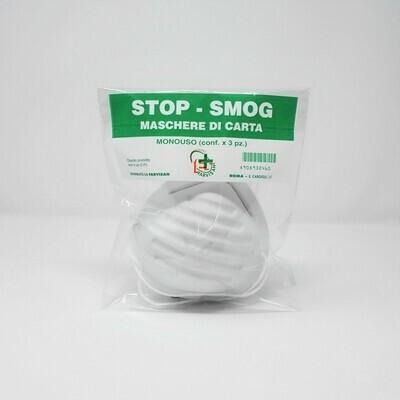 Mascherina di carta - Stop smog