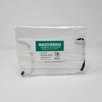 MASCHERINA 100% COTONE