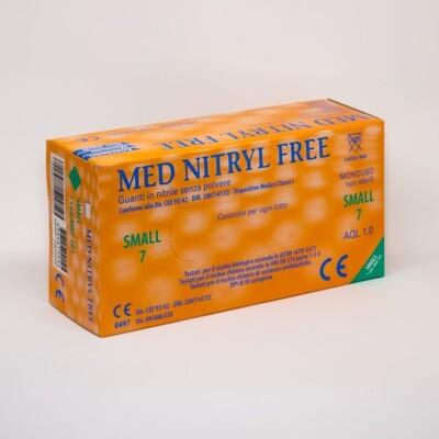 Guanti in nitrile - Scatola da 100 pezzi - Misura Extra Grande