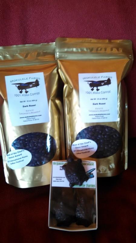 Dark Roast Coffee plus Chocolate Turtles -- Special Price