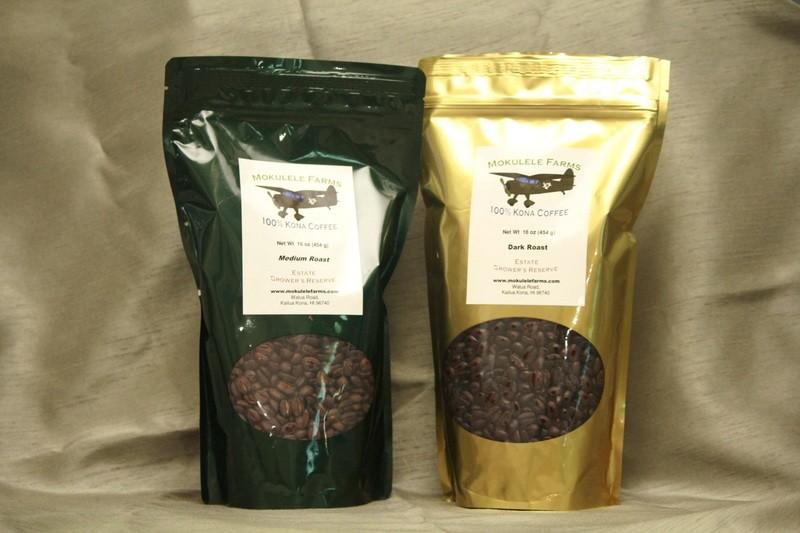 100% Kona Coffee, One Pound Bag