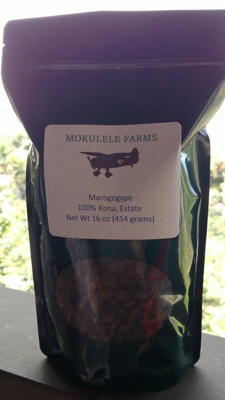 Kona Maragogype -- Sweetest Kona Coffee Ever