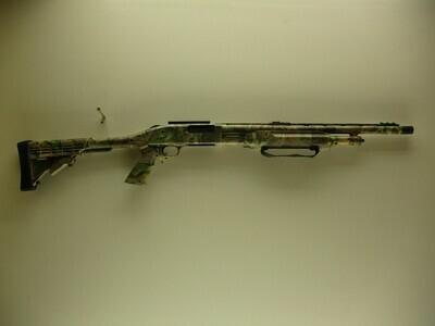 11 Mossberg Mod 500A 12 ga. Pump shotgun