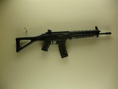 26 Sig Sauer mod Sig 522, 22LR cal semi auto rifle