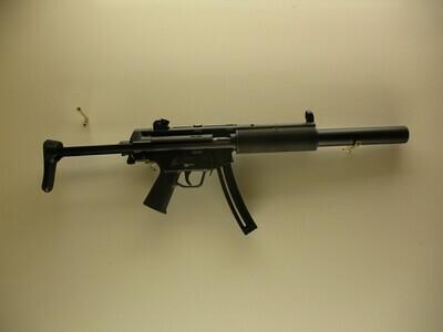 40 Umarex mod H & K MP5 22 LR cal semi auto rifle