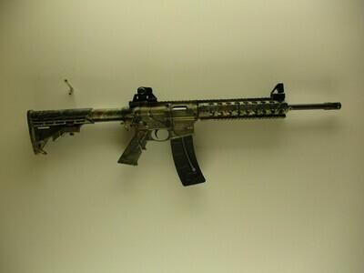 45 Smith & Wesson Mod M & P 15-22, 22 LR cal semi auto rifle