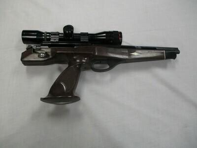 52 Remington mod XP-100 221 Remington Fireball cal single shot pistol