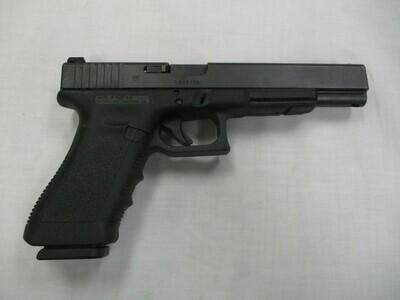 55 Glock mod 17L semi auto pistol