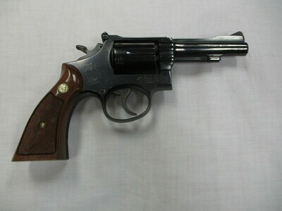 58 Smith & Wesson mod 15.3 38 S & W special revolver