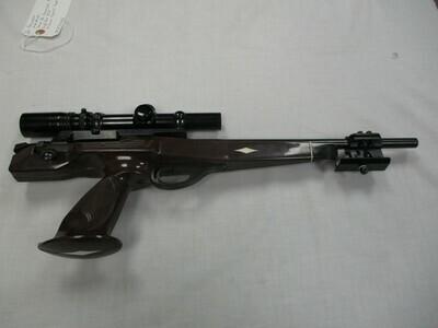 53 Remington mod XP100 7mm BR Remington cal single shot pistol