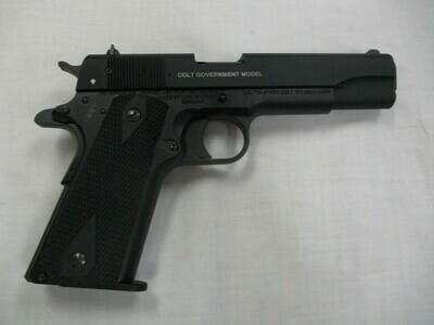 56 Colt Government model semi auto pistol