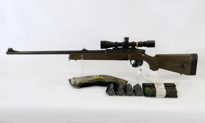 3 Steyr Mannlicher SSG-69 308 cal B/A rifle