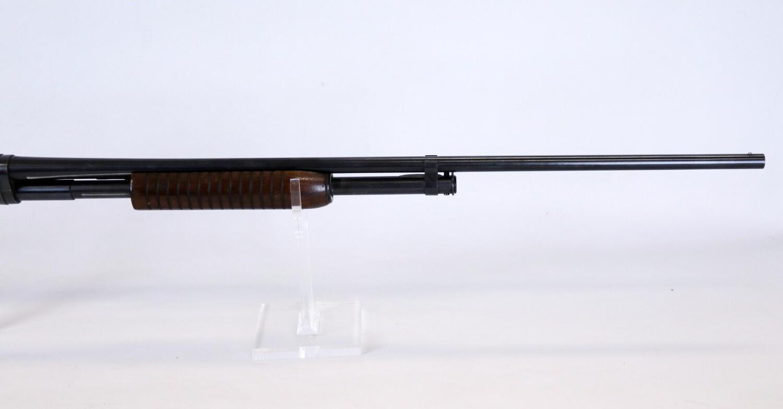 """31 Winchester mod 42 410 ga pump shotgun 3"""" chamber full choke BBL ser# 70381"""