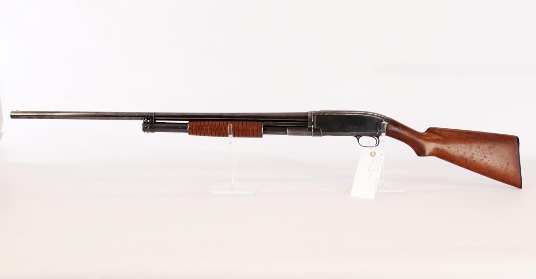 36 Winchester mod 12 12 ga pump shotgun full choke BBL ser# 347295