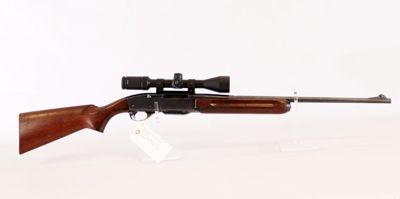 51 Remington Woodsmaster mod 740 30-06 semi auto rifle w/ZEISS 4-12x42 scope ser# 51222
