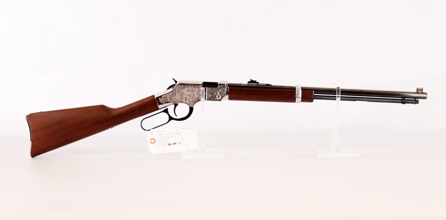 41 Henry mod Silver Eagle 22 S-L-LR cal L/A rifle Very Nice Octagon BBL ser# SF010582