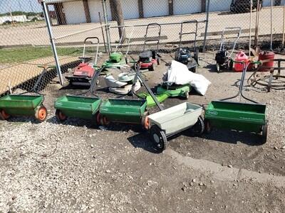Lawnmowers, Snow blowers, Seeders, Misc