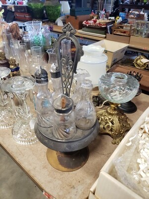 Hurricane Lamps and Shades