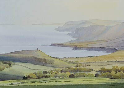 Evening Haze, Kimmeridge Bay