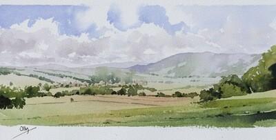 Blustery Skies, Yorkshire Dales