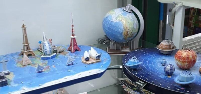 3D პაზლი - გლობუსი, მსოფლიო, კოსმოსი