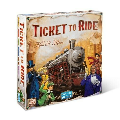 სამაგიდო თამაში - Ticket to ride