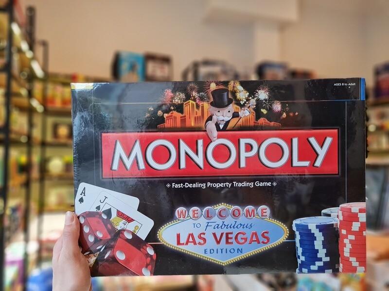 სამაგიდო თამაში - მონოპოლია Monopoly Las Vegas
