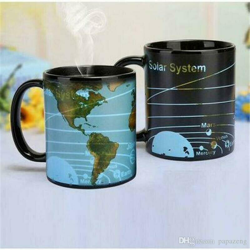 ფერიცვალია ჭიქა - მზის სისტემა და მსოფლიო რუკა